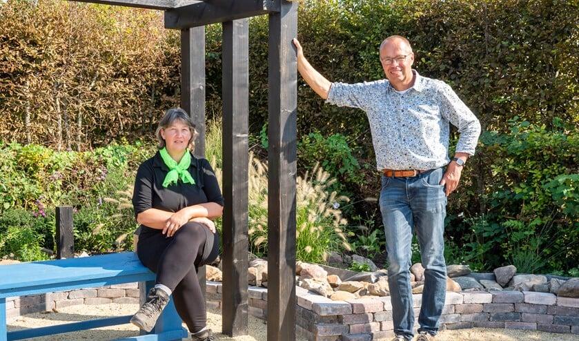 Hannie Grinwis en Cor Joppe. Foto: Jacquelien Wielaard