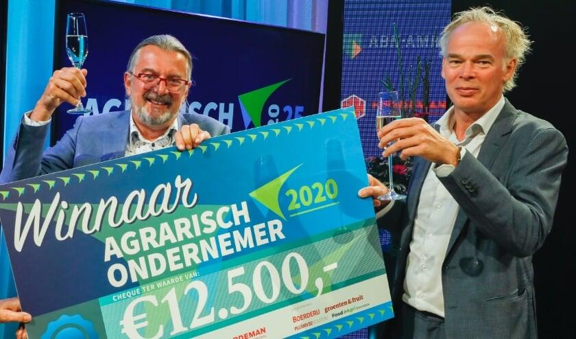 Rob Baan van Koppert Cress is uitgeroepen tot Agrarisch Ondernemer van het Jaar. Foto: (PR)