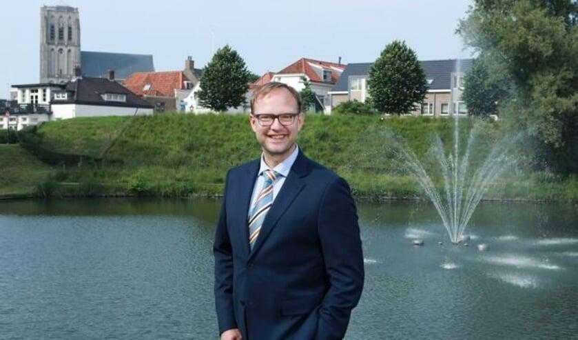 <p>Wethouder Van der Kooi</p>