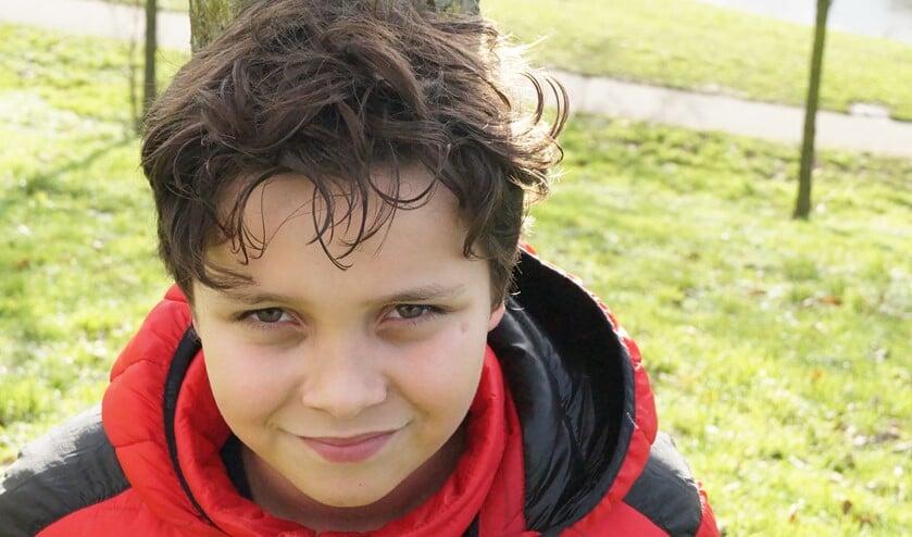 <p>De 10-jarige Rodrigo heeft geen problemen met thuisonderwijs, alleen is zijn moeder wel strenger dan de juf. (Priv&eacute;foto)</p>