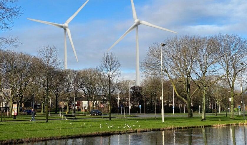 <p>Wordt dit straks het uitzicht in Spijkenisse Noord?</p>