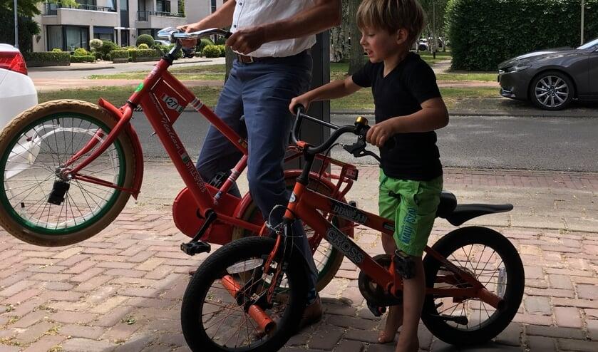 <p>De laatste drie jaar zijn er 500 fietsen weggegeven.</p>
