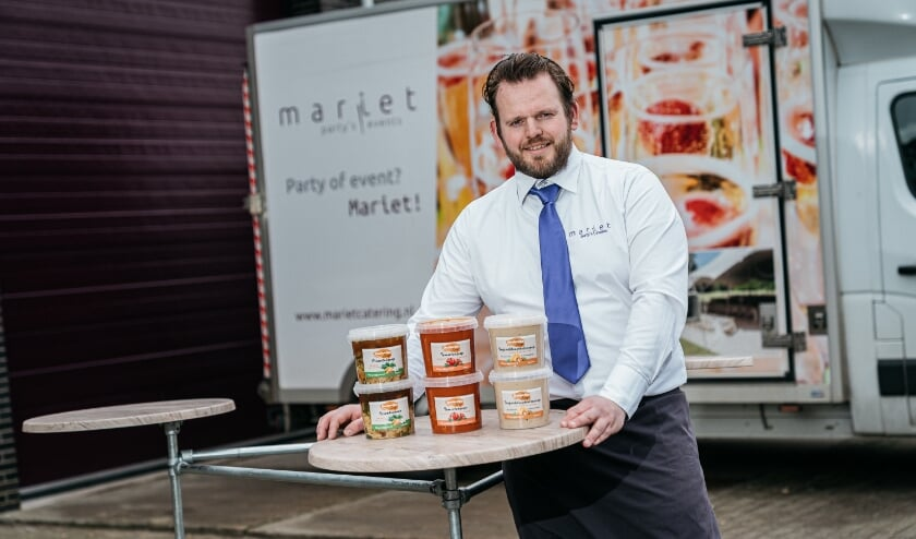 <p><strong><strong>&nbsp;Jaap Herweijer van Mariet Party&rsquo;s & Events uit Numansdorp</strong></strong></p>