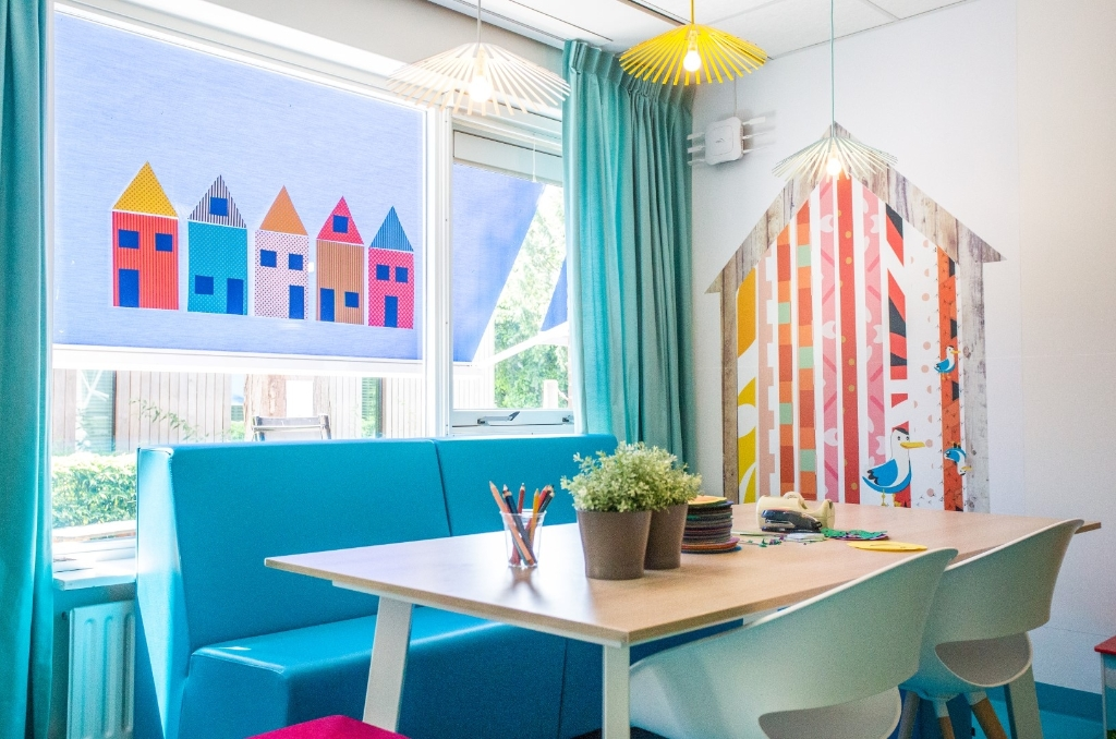 <p><em>De kinderafdeling heeft een grote renovatie ondergaan</em></p>  © BrielsNieuwsland.nl