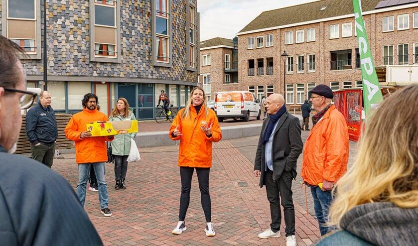 Code Oranje had een aardigheidje meegenomen voor de vrijwilligers.