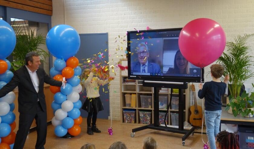 <p>Het lanceringsmoment op basisschool De Vlieten. Foto: (PR)</p>