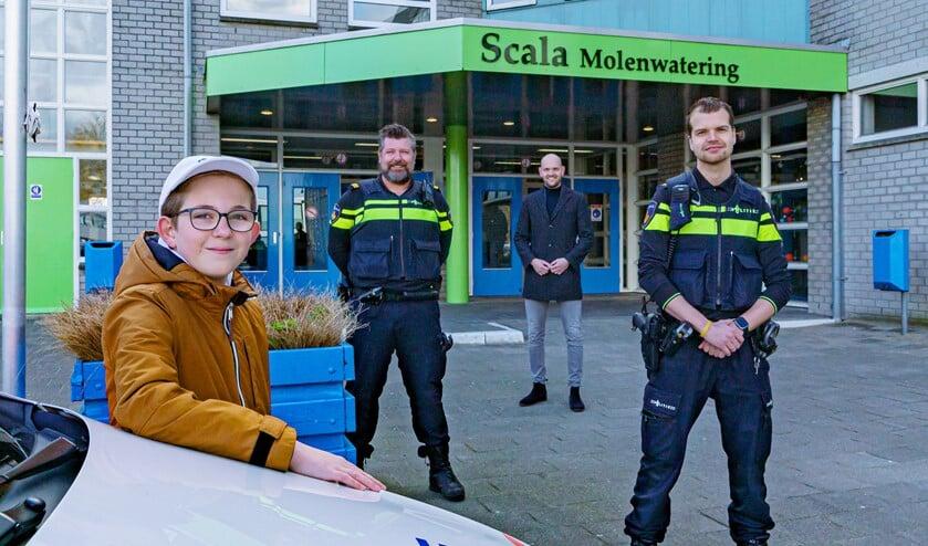Sem Pijper won in Nissewaard bij het project HackShield