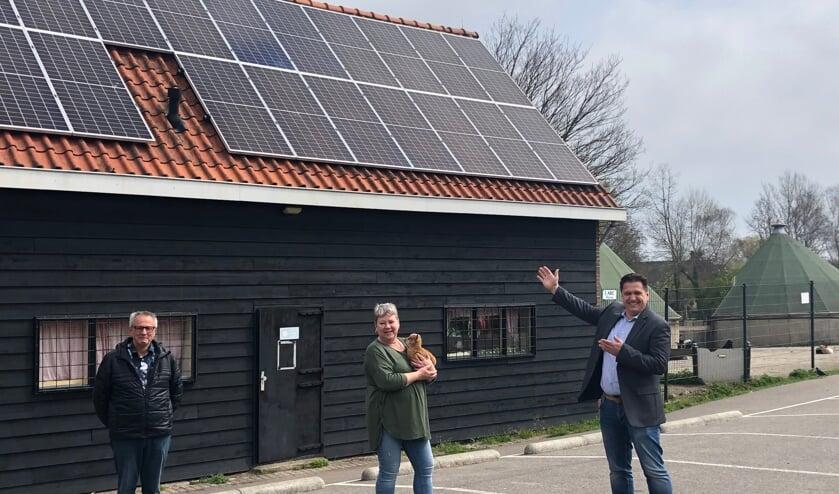 <p>Richard Venneker van Bakker Bouw Solar Solutions &nbsp;&ldquo;Vroeger kwam ik hier vaak met de kinderen en nu mocht ik er zonnepanelen installeren.&rdquo; &nbsp;</p>