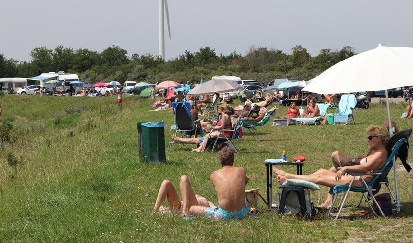 <p>&#39;s Zomers wordt er veel gebruik gemaakt van dit recreatiegebied door dagjesmensen.&nbsp;</p>