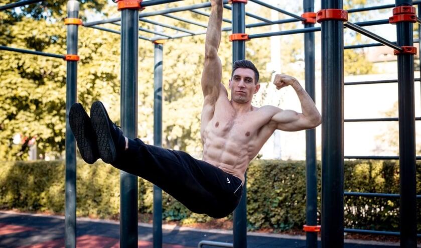 <p>De fitnesstoestellen staan er tijdelijk.</p>