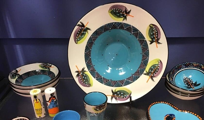 <p>Mooi Afrikaans keramiek in de Wereldwinkel</p>