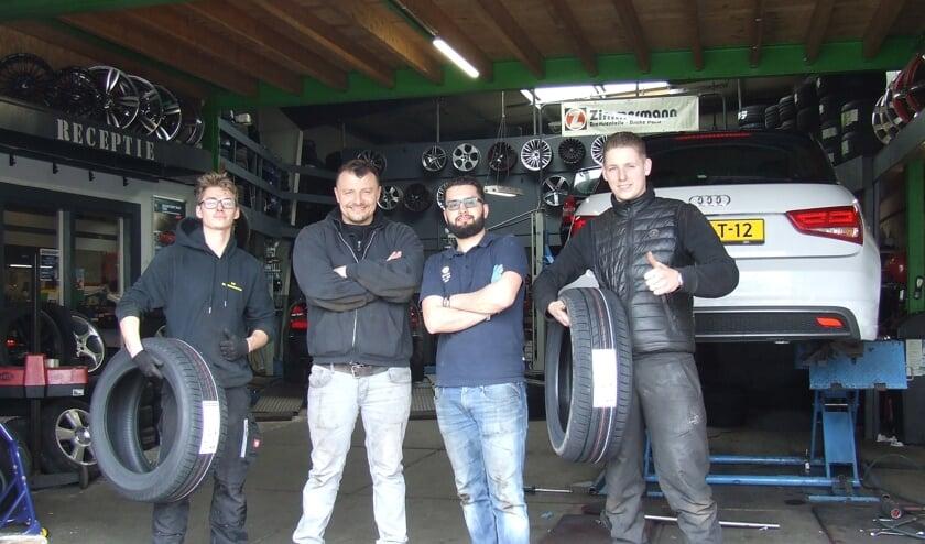 Het team van Firststop Sky Bandennet weet alles van banden en balanceren.