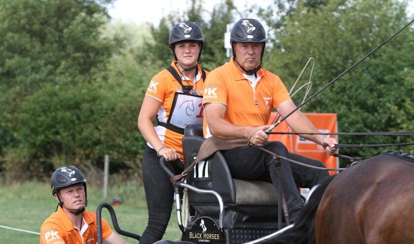 """IJsbrand Chardon: """"Je moet elke wedstrijd het uiterste geven, steeds op de limiet rijden. Anders ben je kansloos (foto: Joost Rouwhorst)."""