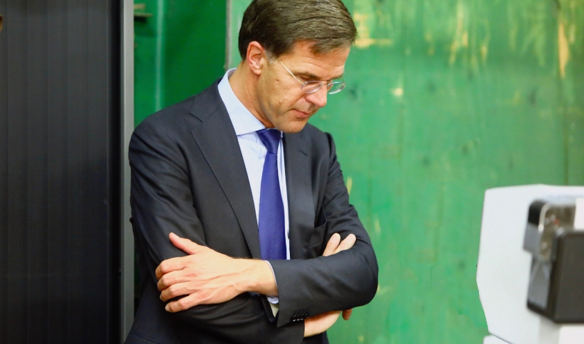 Premier Mark Rutte (Foto: Koos Bommelé)