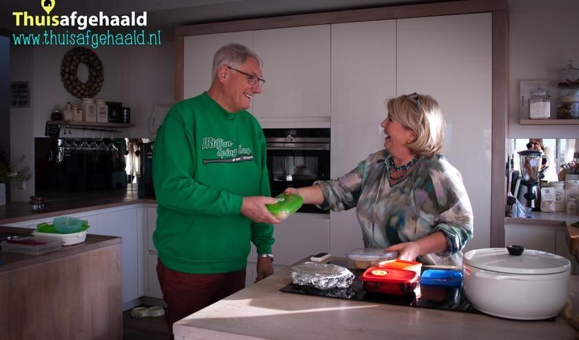 Jaap en Nathalie zijn enthousiast over het initiatief 'Kook voor je buur'