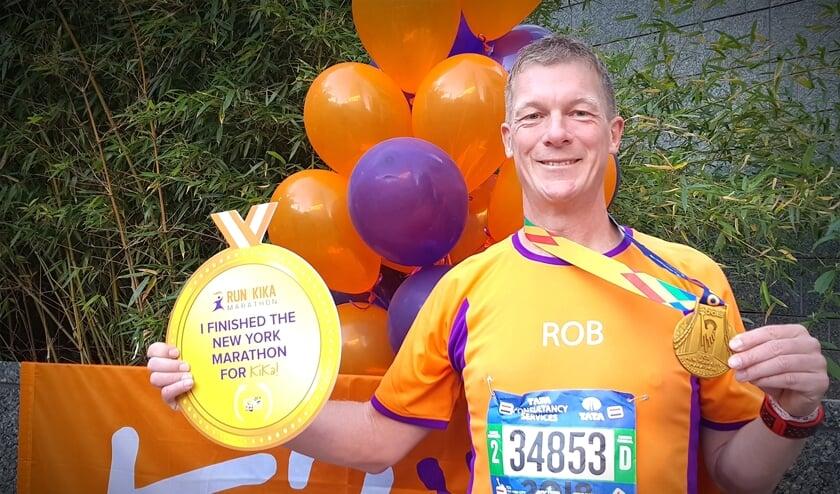 Rob van Woudenberg - passie voor hardlopen gecombineerd met een goed doel.
