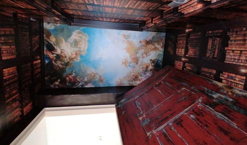 <p>De ruimte waar RODI gewerkt heeft aan de boekenkast met geheime doorgang</p>