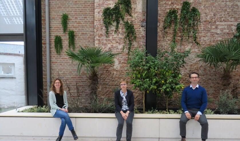 <p>Karin Zeestraten, (links) Marja Bocxe (midden) en Martijn Kirsten (rechts) werken mee aan dit initiatief.</p>
