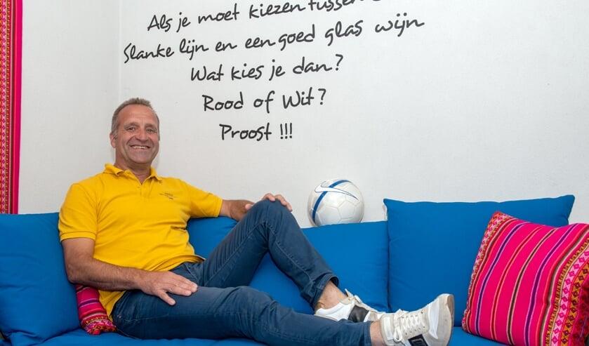 """Barend Colijn stond als voetballer te boek als een harde werker: """"Niets mooier dan een goede sliding."""" (Foto: Roel van Dorsten)"""