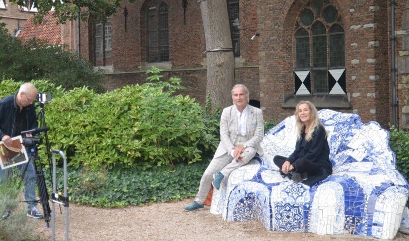 Martin Reitsma en Hilde Marchal