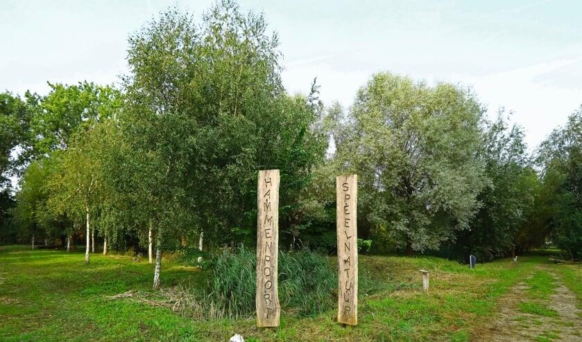 Wat er in de toekomst met de Hammenpoort natuurspeeltuin gaat gebeuren is nog onduidelijk (Foto: Koos Bommelé)