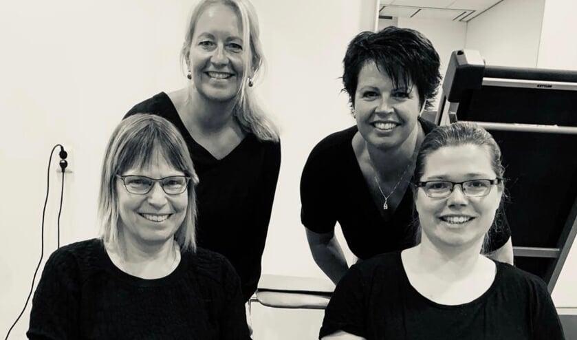 <p>Katja, Hanneke, Wendy en Pamela</p>