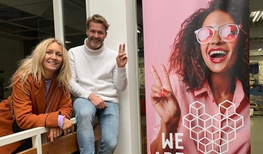 <p>Melanie Haaksma en Ren&eacute; van Dijk van We Are Delft&nbsp;</p>