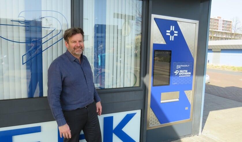 <p>Cees van Mourik, Apotheker bij de Voorhof apotheek (Foto: Finn Rekveldt)</p>