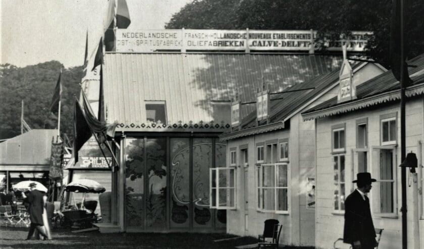 <p>Het Paviljoen op de Landbouwtentoonstelling op het Malieveld Den Haag in 1907 (Foto: PR)&nbsp;</p>