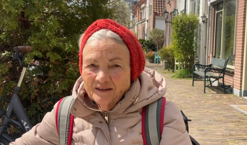 <p>Marja van Mil (71) Foto: Demi van der Weele</p>