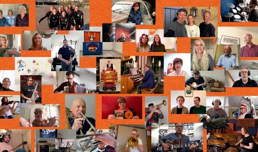 <p>De Maxima&rsquo;s lanceren op Koningsdag een nieuwe clip van hun Den Hoornlied door het Huiskamer Orkest &nbsp;</p>