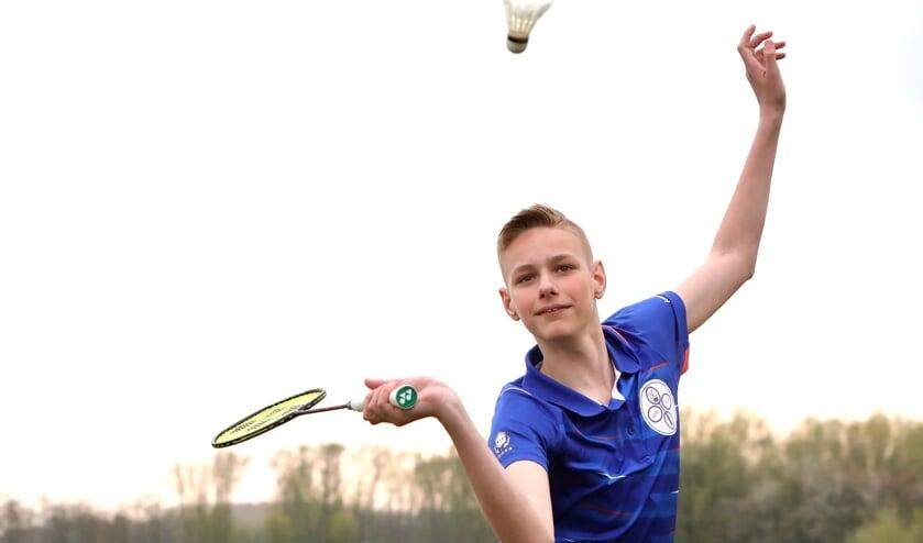 <p>Olaf hoopt snel weer toernooien te kunnen spelen (Foto: Koos Bommel&eacute;)</p>