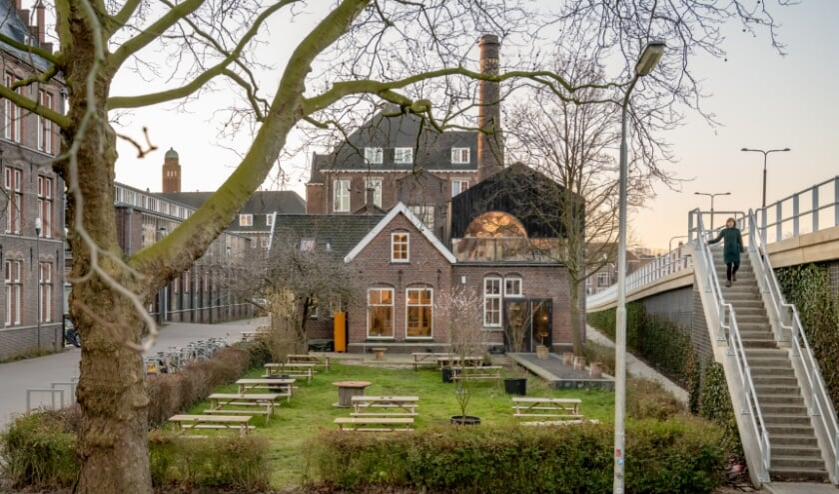 Prof. Snijdersstraat 2, Het Vakwerkhuis, gerestaureerd vroeger ketelhuis (Foto: Menno Emmink)