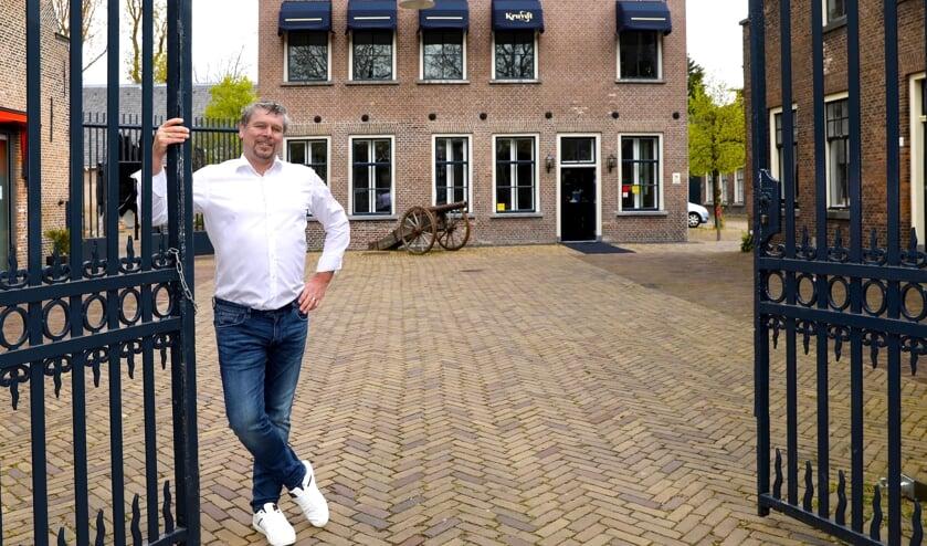 <p>Bedrijfsleider Dennis Vos (Foto Koos Bommele)</p>