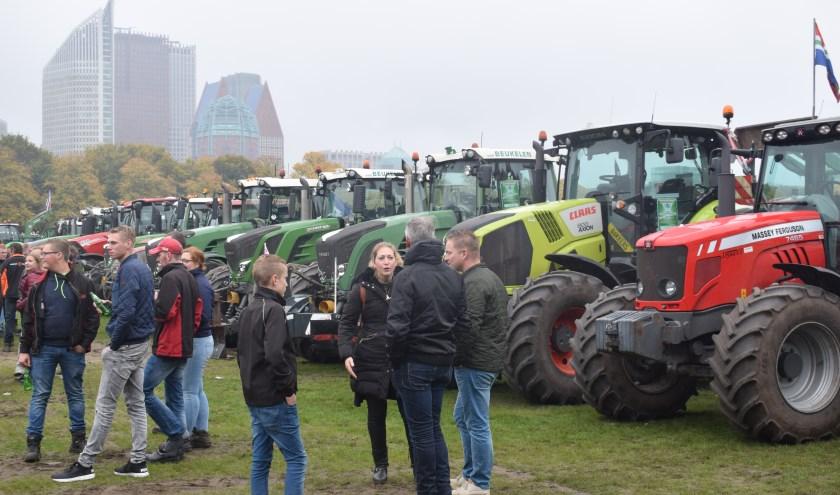 Deze week waren er nieuwe boerenprotesten, waaronder vandaag op het Malieveld in Den Haag. (foto en tekst: Myriam Dijck)
