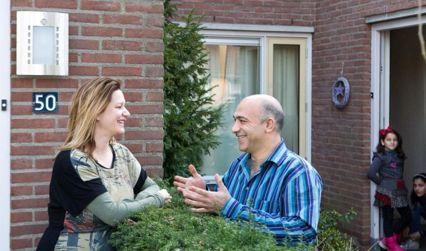 Met het project Buurtgezin zijn vluchtelingengezinnen enorm geholpen, stelt Vluchtelingenwerk.