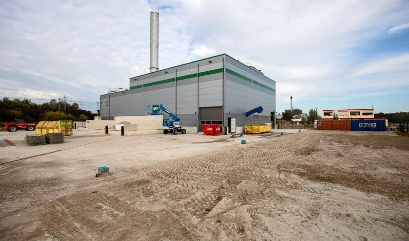 <p>Een biomassacentrale in Lelystad.</p>
