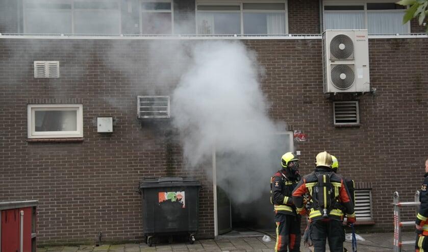 <p>De brandweer heeft de ruimte geventileerd nadat er rookontwikkeling was ontstaan.</p>