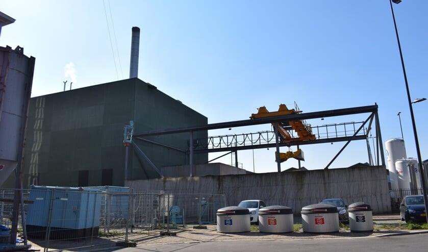 <p>Een biomassacentrale in Eindhoven.</p>