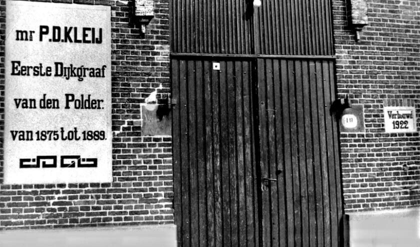 <p>In 1922 werd het gemaal aan de Bermweg verbouwd en vernoemd naar mr P.D. Kleij.</p>
