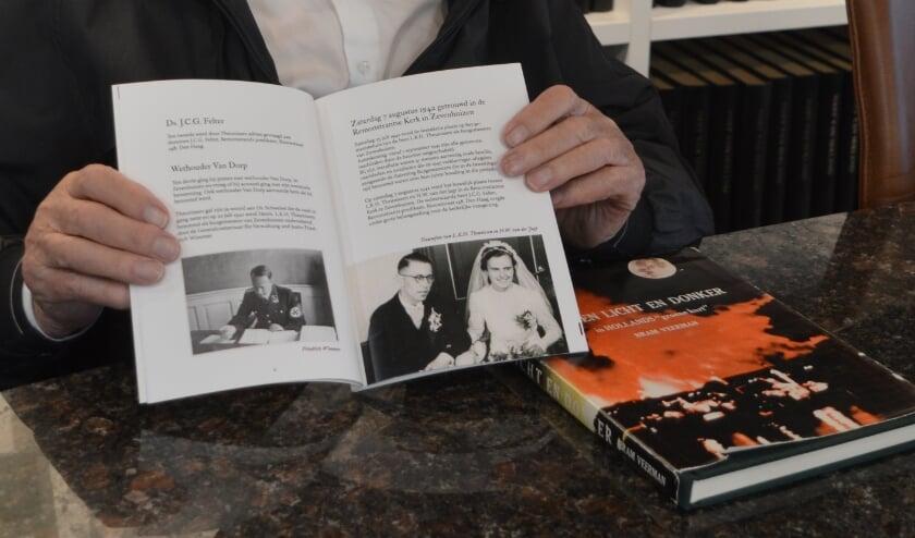 Bram Veerman heeft een boek geschreven over de oorlog in Zevenhuizen, waarin Theunissen een hoofdrol speelt.