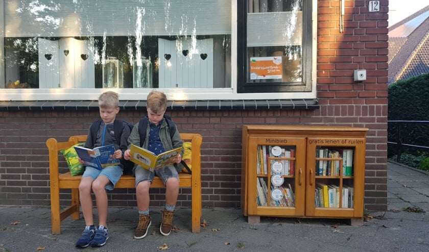 In Moerkapelle kunnen kinderen op 30 september gelezen boeken komen brengen en een ander boek uitzoeken.