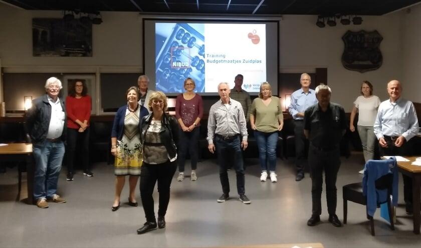 Een aantal van de nieuwe budgetmaatjes van Welzijn Zuidplas.