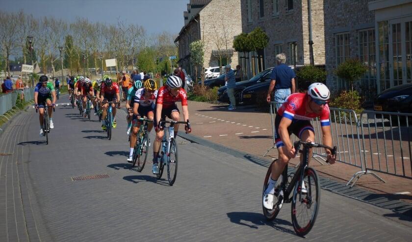 <p>De laatste ronde in Waddinxveen, in april 2019.</p>