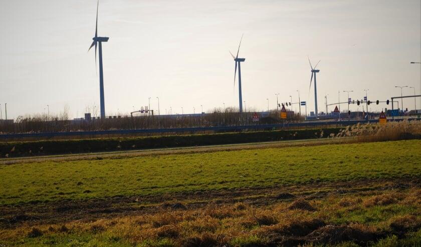 <p>Windturbines bij Doelwijk.</p>