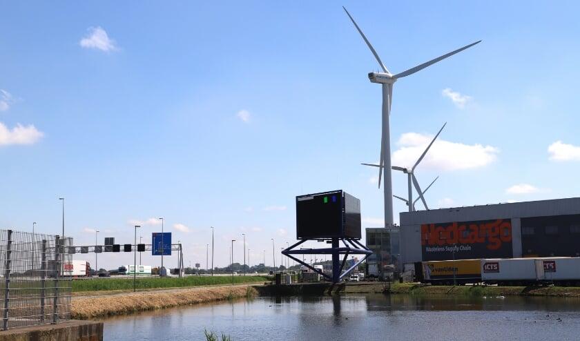 <p>De windmolens aan de A12.</p>