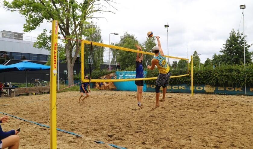 <p>In september was Timios Beach nog decor van een eerste divisie-toernooi.</p>