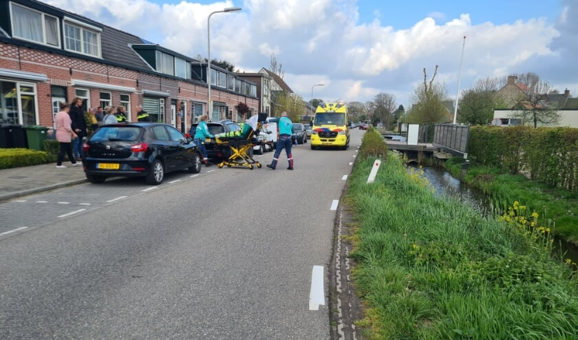 <p>Aan de Onderweg raakte een wielrenner donderdagavond gewond.</p>