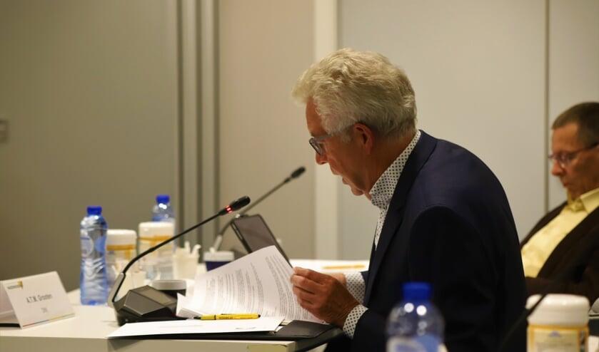 <p>Albert Grooten, fractievoorzitter van D66 Waddinxveen.</p>