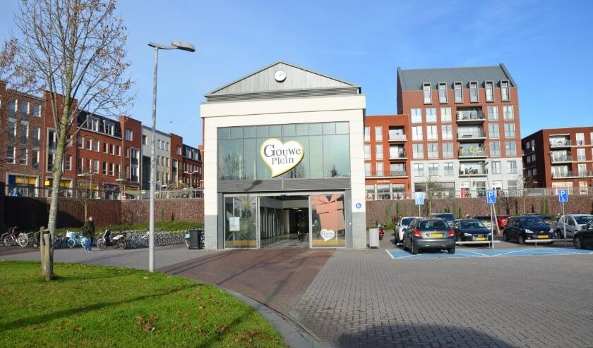 <p>Het Gouweplein in Waddinxveen.</p>